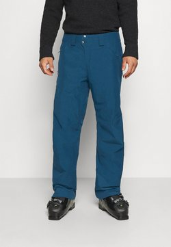 Patagonia - POWDER BOWL PANTS - Täckbyxor - crater blue