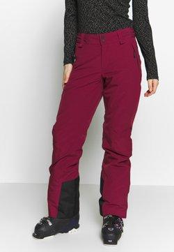 Peak Performance - ANIMA  - Pantalón de nieve - dark red