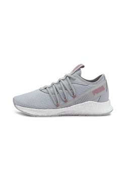 Puma - NRGY STAR NEW CORE - Stabilty running shoes - gray violet-foxglove