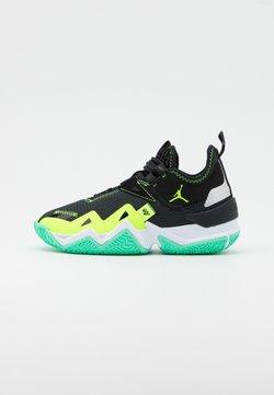 Jordan - WESTBROOK ONE TAKE UNISEX - Indoorskor - black/volt/white/green glow