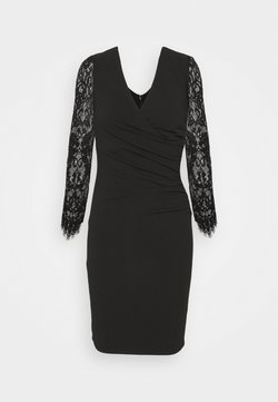 SISTA GLAM PETITE - SAVANNA PETITE - Vestido de cóctel - black