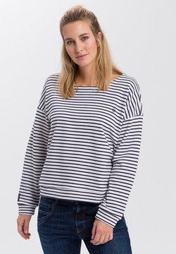Cross Jeans - Sweatshirt - ecru-navy