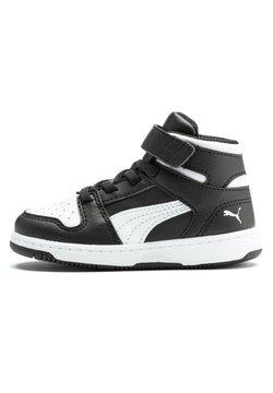 Puma - REBOUND LAY-UP - Chaussures de basket - black white