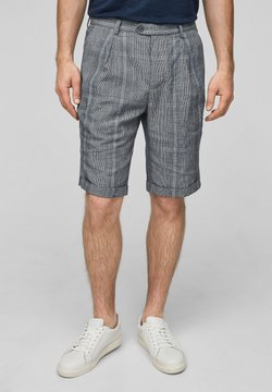 s.Oliver BLACK LABEL - Shorts - dark blue check