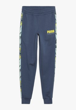 Puma - ALPHA PANTS - Jogginghose - dark denim