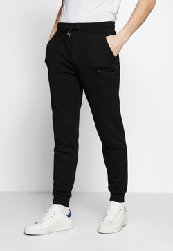 KARL LAGERFELD - TROUSERS - Jogginghose - black