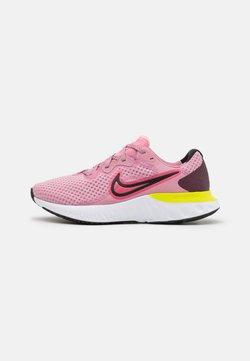 Nike Performance - RENEW RUN 2 - Zapatillas de running neutras - elemental pink/sunset pulse/black/cyber