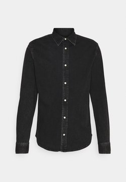 Calvin Klein Jeans - SLIM FOUNDATION  - Overhemd - black