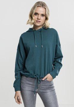 Urban Classics - GATHERING - Bluza z kapturem - turquoise