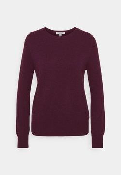 Marks & Spencer London - CREW - Stickad tröja - purple