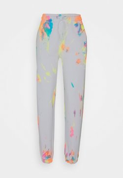Jaded London - RAINBOW TIE DYE PRINT - Jogginghose - multi