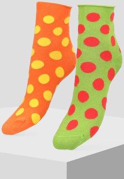 Libertad - 2 PACK - Socken - orange
