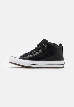 Converse - CHUCK TAYLOR ALL STAR STREET UTILITY UNISEX - Sneaker high - black/almost black/white