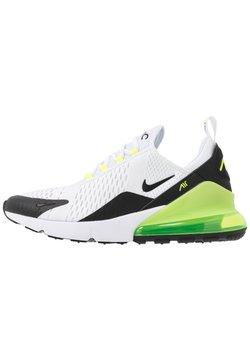 Nike Sportswear - AIR MAX 270 ESS - Sneakers - white/black/volt