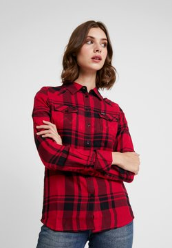 Wrangler - REGULAR WESTERN - Hemdbluse - magenta red