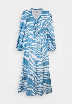 Never Fully Dressed Petite - ZEBRA MIDAXI - Maxikleid - blue