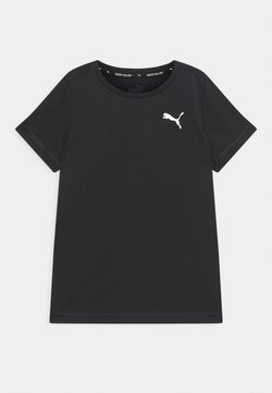 Puma - ACTIVE SMALL LOGO UNISEX - T-Shirt print - black