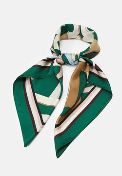 Tory Burch - MEDLEY LOGO SQUARE - Huivi - green/multi-coloured