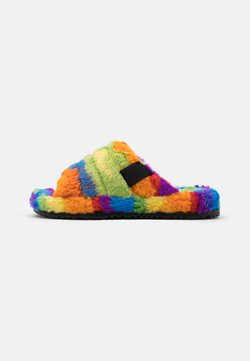 UGG - FLUFF YOU CALI COLLAGE UNISEX - Hausschuh - pride rainbow