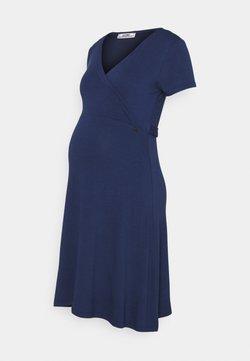 LOVE2WAIT - DRESS NURSING - Vestido ligero - blue