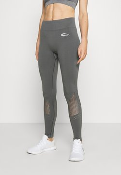 Smilodox - SEAMLESS LEGGINGS CONFIDENCE - Tights - anthrazit