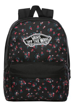 Vans - REALM BACKPACK - Reppu - beauty floral black