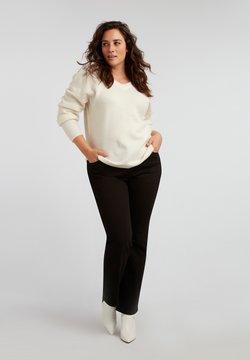 MS Mode - Straight leg jeans - black