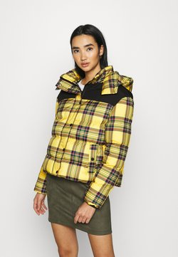 Urban Classics - LADIES PUFFER JACKET - Winterjacke - bright yellow