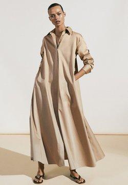 Massimo Dutti - Maxi-jurk - beige