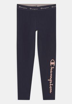 Champion - AMERICAN CLASSICS LOGO UNISEX - Leggings - navy/pink