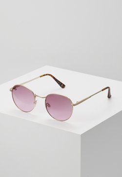 Jeepers Peepers - Lunettes de soleil - gold/pink lens