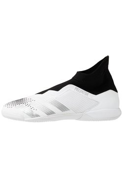 adidas Performance - PREDATOR 20.3 FOOTBALL SHOES INDOOR - Fußballschuh Halle - footwear white/silver metallic/core black