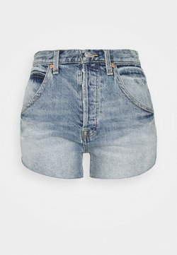 Free People - TALIESIN - Szorty jeansowe - mid blue