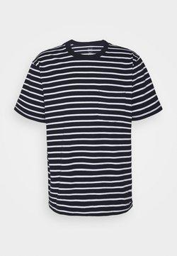 GAP - T-Shirt print - navy stripe
