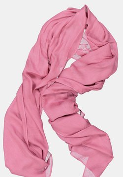 GINA LAURA - FRANSENKANTEN - Sjaal - pink