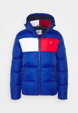 Tommy Jeans - COLORBLOCK PADDED JACKET - Winterjacke - blue/red/white