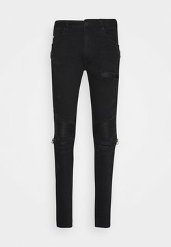 AMICCI - AREZZO CARROT FIT  - Jeans Tapered Fit - black