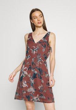 Vero Moda - VMWONDA NEW SINGLET SHORT DRESS - Freizeitkleid - rose/brown