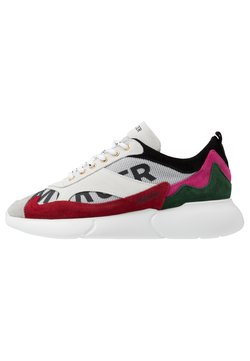 Mercer Amsterdam - Sneaker low - white/red/pink