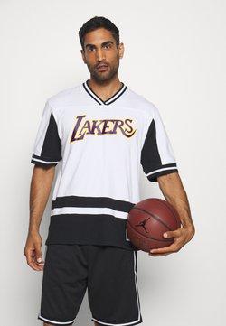Mitchell & Ness - NBA LOS ANGELES LAKERS FINAL SECONDS - Vereinsmannschaften - black/white
