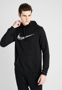 Nike Performance - DRY HOODIE - Huppari - black