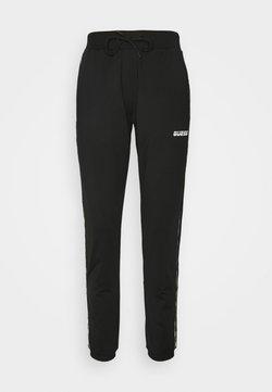 Guess - LONG PANTS - Jogginghose - jet black