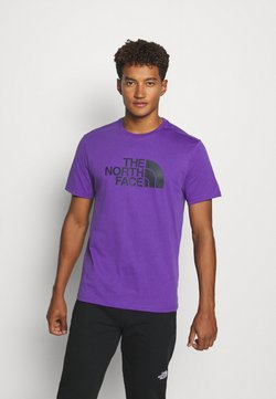 The North Face - EASY TEE SUMMIT GOLD - Print T-shirt - peak purple