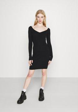 Even&Odd - Vestido de punto - black