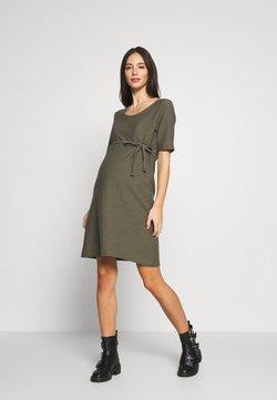 MAMALICIOUS - MLLIL  - Jerseyklänning - dusty olive