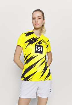 Puma - BVB BORUSSIA DORTMUND HOME REPLICA WOMEN - Vereinsmannschaften - cyber yellow/black