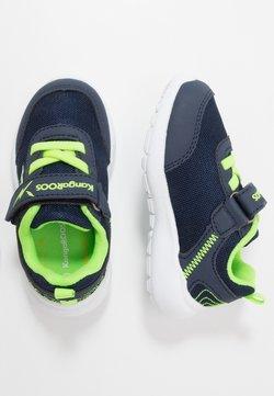 KangaROOS - KY-FLIGHT EV - Sneakers laag - dark navy/lime