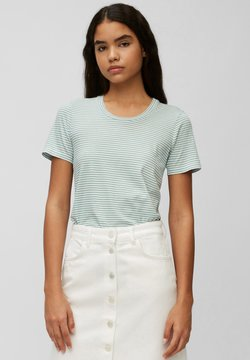 Marc O'Polo DENIM - T-Shirt print - multi/milky mint