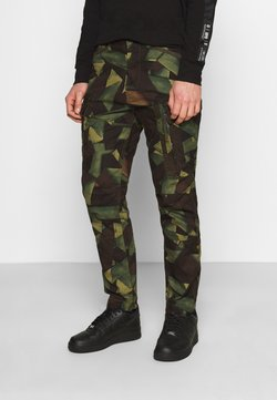 G-Star - ROXIC STRAIGHT TAPERED PANT - Reisitaskuhousut - olive/brown