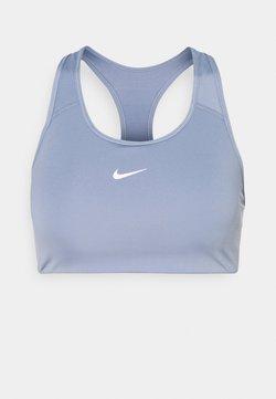 Nike Performance - BRA  - Sport-BH mit mittlerer Stützkraft - ashen slate/white